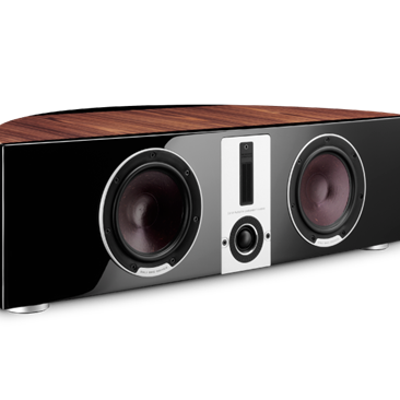 DALI EPICON VOKAL in a Walnut finish with High Gloss Lacquer