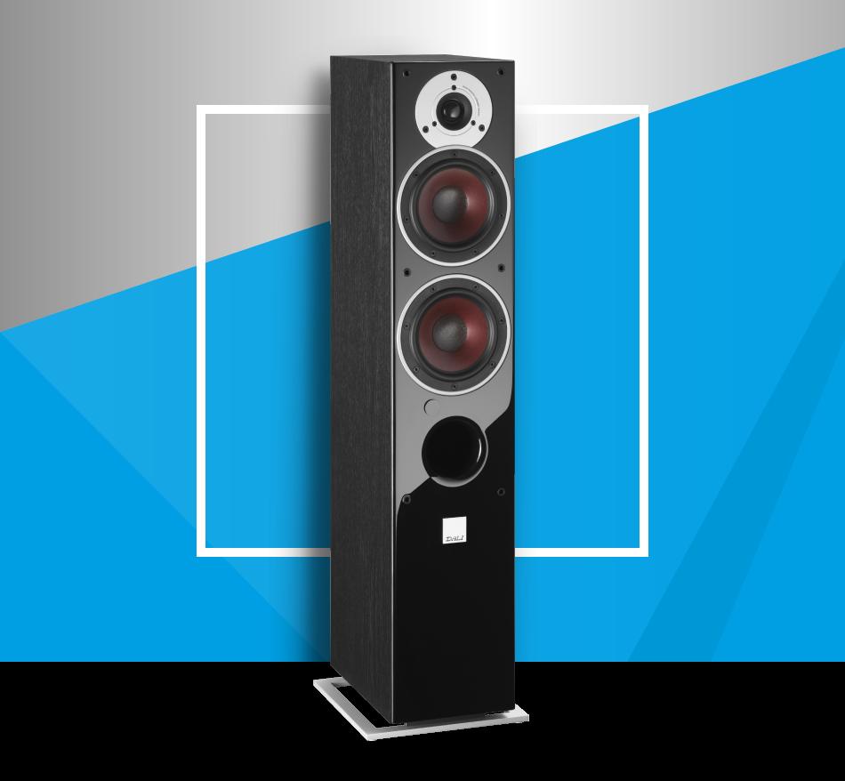 DALI ZENSOR 5 AX | Floorstanding bluetooth loudspeaker