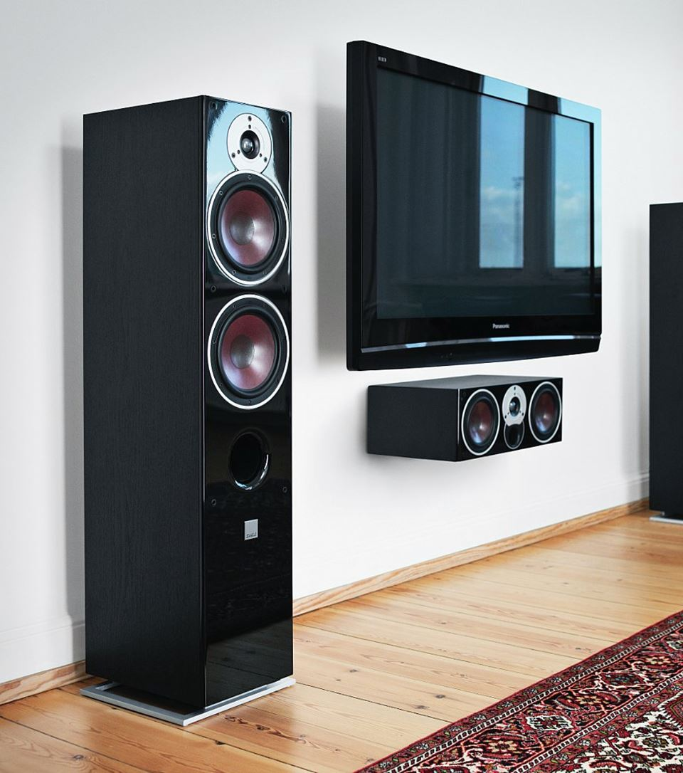 Dali Zensor 7 Affordable Quality Loudspeaker Speakers A Center Speaker And Two Surround Powered Zoom