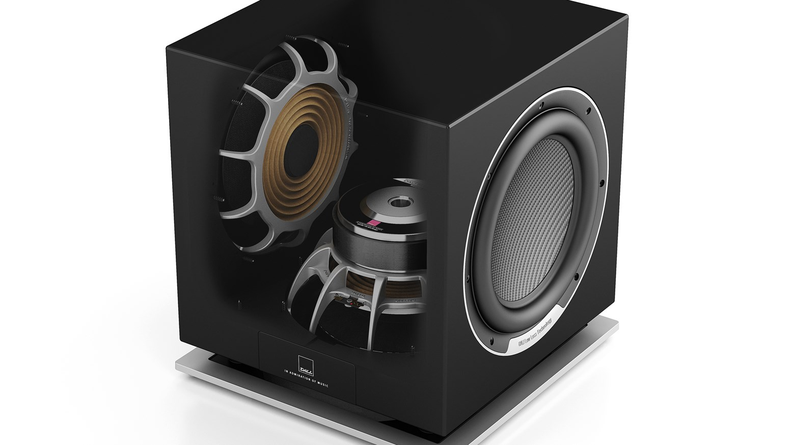 Dali Sub P 10 Dss Subwoofer For High End Stereo And Home Cinema Circuit You Take It To Apply With Your Sound System Or In Between Each Layer Is Hand Polished Ensure A Deep Gloss Elegant Surface