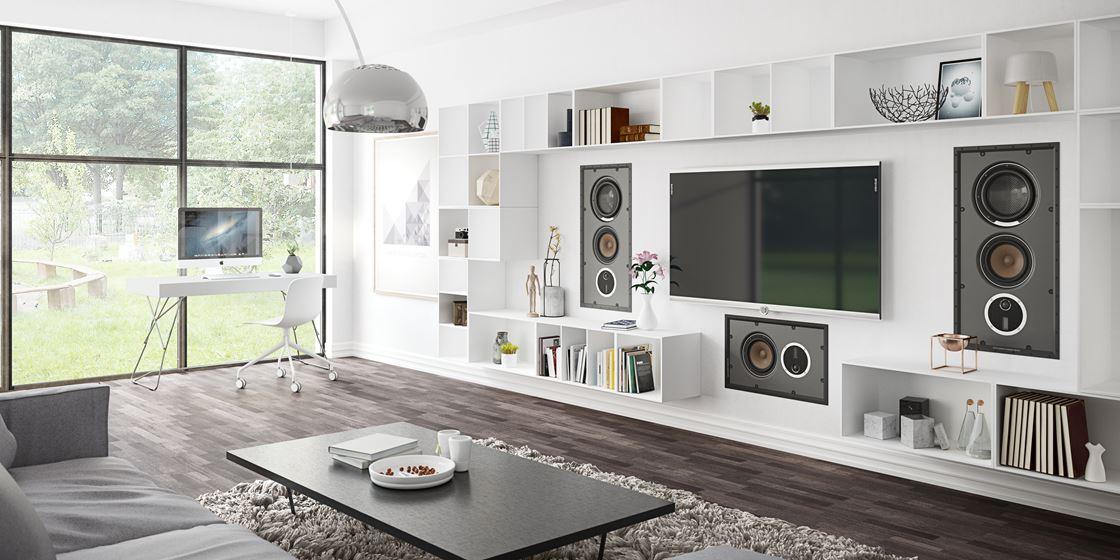 DALI PHANTOM install loudspeakers - CI loudspeakers with true Hi-Fi