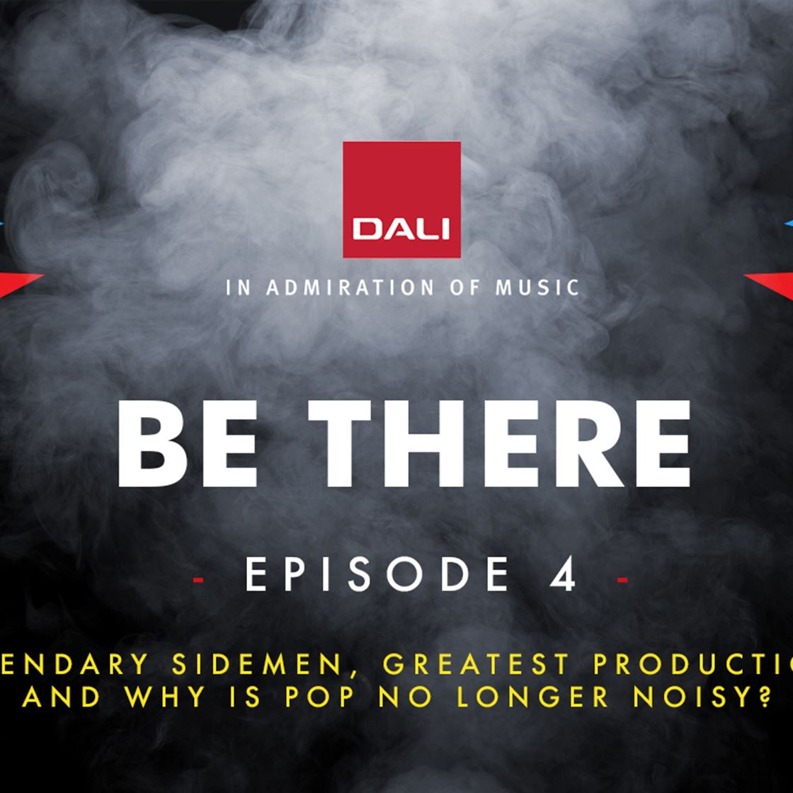 BE THERE - Music podcasts from DALI