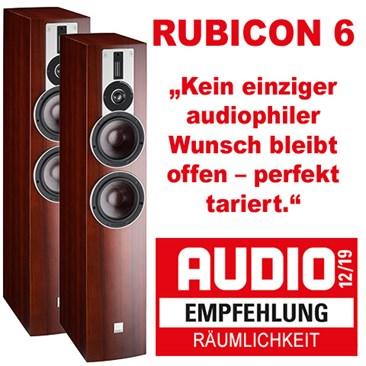 Teaser Rubicon6 Audio