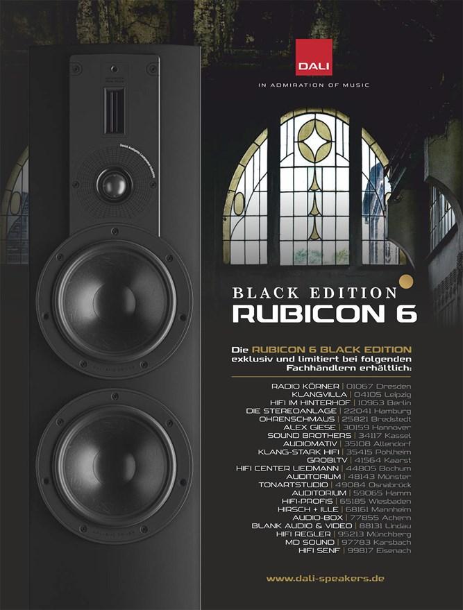 DALI Rubicon 6 Blackedition