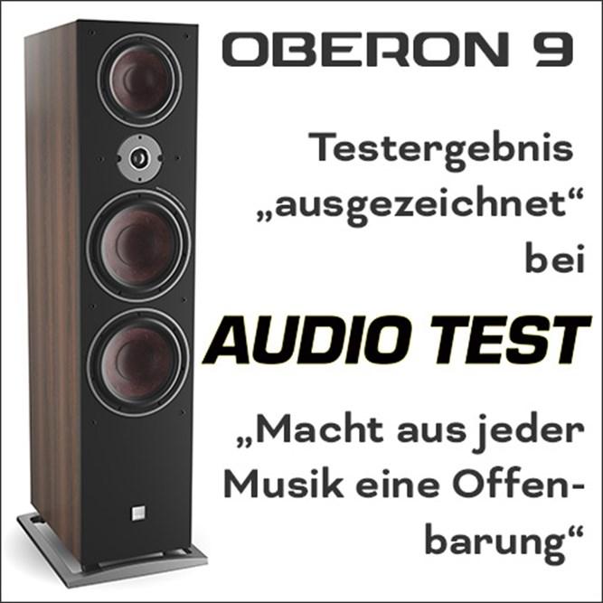 Teaser Oberon9 Audiotest