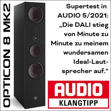 Teaser Opticon8mk2 Audio
