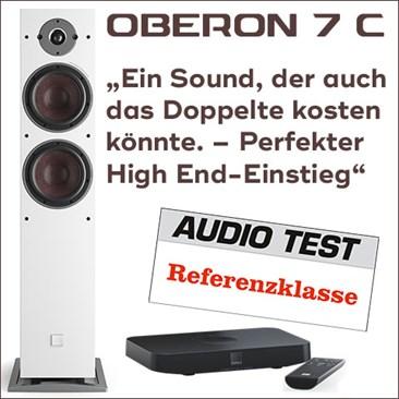 Teaser Oberon7c Audiotest