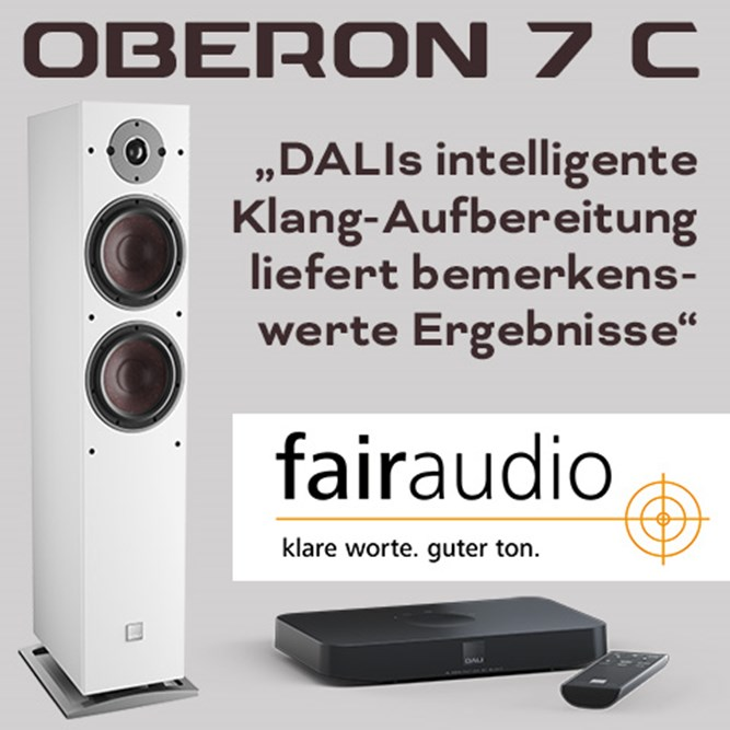 Teaser Oberon7c Fairaudio