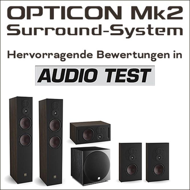 Teaser Opticon Mk2 System Audiotest